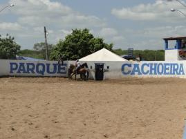 VAQUEJADA DO PARQUE CACHOEIRA - DISPUTA